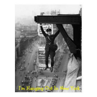 Hanging Out In New York - Postcard