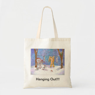 Hanging Out - Snowman!!! Tote Bag