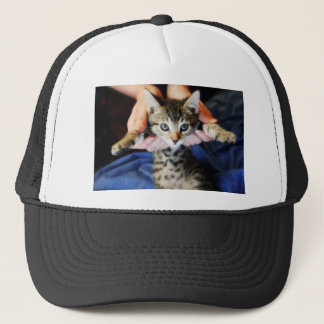 Hanging Out Tabby Trucker Hat