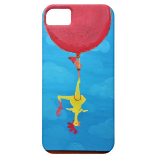 Hanging rubber chicken case for the iPhone 5