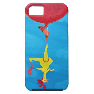 Hanging rubber chicken iPhone 5 covers