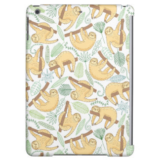 Hanging Sloths iPad Air Cases