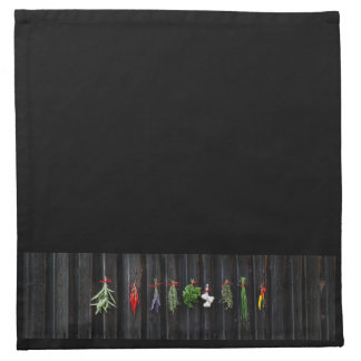 Hanging Spice Cloth Cocktail Napkins