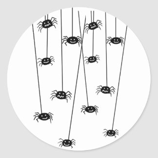 Hanging Spiders stickers