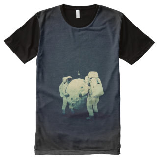 hanging the moon All-Over-Print T-Shirt