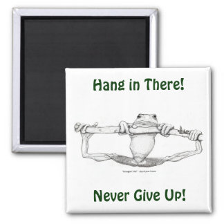 Hanging Tree Frog Motivational Magnet