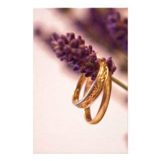 Hanging Wedding Bands Stationery Paper