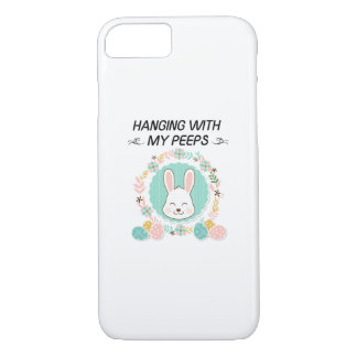 Hanging With My Peeps Funny Easter Gifts Case-Mate iPhone Case
