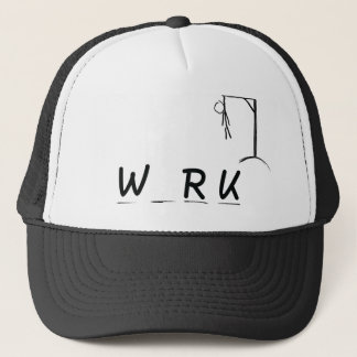 Hangman with WRK Trucker Hat