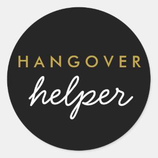 Hangover Helper Wedding Favor Sticker