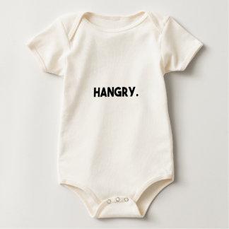 Hangry 2 baby bodysuit
