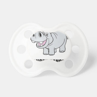 Hangry Hippo Baby Pacifier