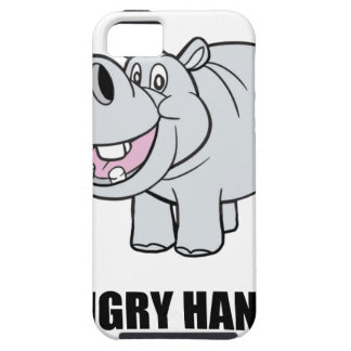 Hangry Hippo iPhone 5 Cases