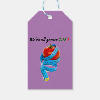 HANGRY We're all gonna die(t) Gift Tags