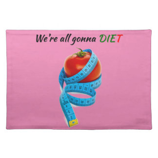 HANGRY We're all gonna die(t) Placemat