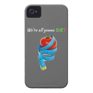 HANGRY We're all gonna die(t) Skinny on dieiting iPhone 4 Cover