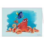 Hank, doris et Nemo Carte De Vœux