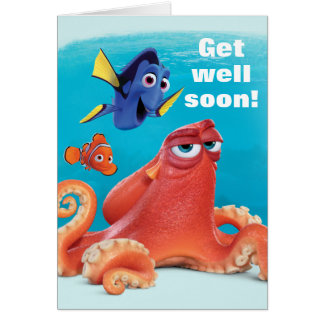 Hank, Dory & Nemo | Get Well Soon Card