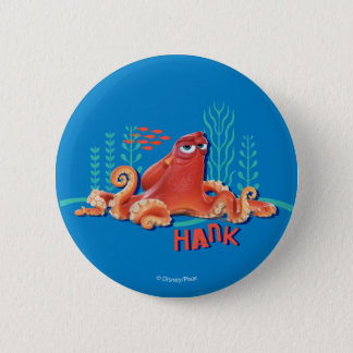 Hank | Fun Under the Sea 2 Inch Round Button