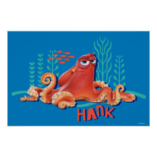 Hank   Fun Under the Sea Poster