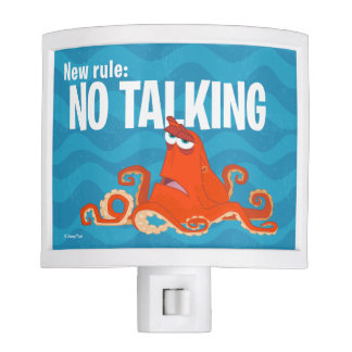Hank | New Rule...No Talking Night Light