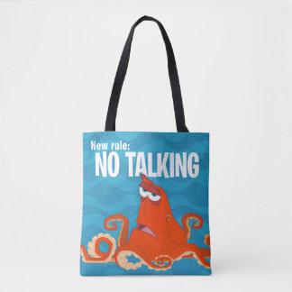 Hank   New Rule...No Talking Tote Bag