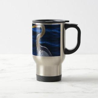 Hank the Heron Travel Mug