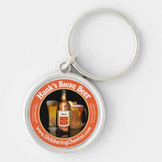 Hank's Bacon Beer Keychain