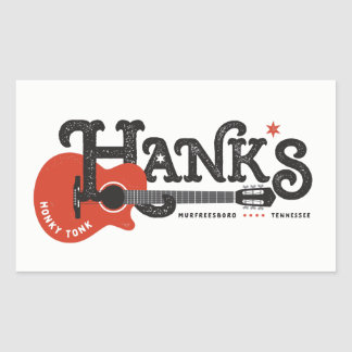 Hank's Guitar Stickers
