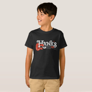 Hank's Guitar Tee (Kids) in Black