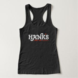Hank's Honky Tonk (Women's) Tank in Black