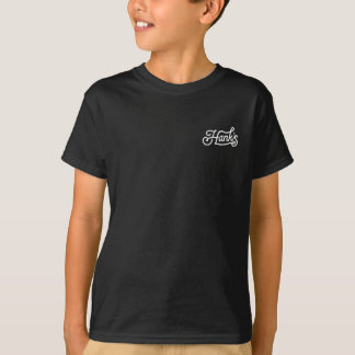 Hank's Rope Tee (Kids) in Black