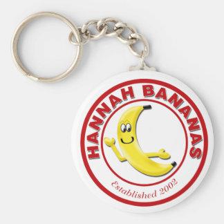Hannah Bananas Keychain