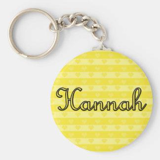 Hannah Keychain