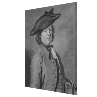 Hannah Snell the Female Soldier Gallery Wrap Canvas