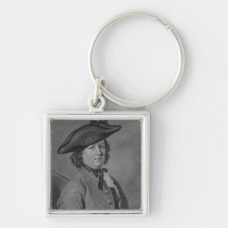 Hannah Snell, the Female Soldier Silver-Colored Square Keychain