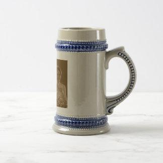 hannah wedding beer stein