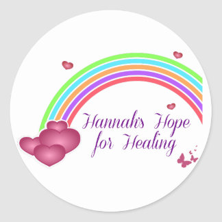Hannah's Hope for Healing Stickers