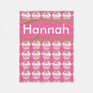 Hannah's Personalized Cupcake Blanket