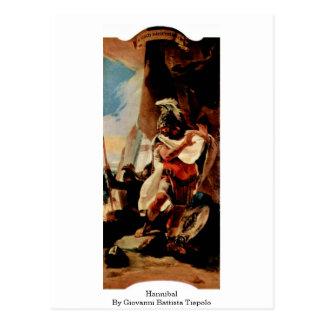 Hannibal By Giovanni Battista Tiepolo Postcard