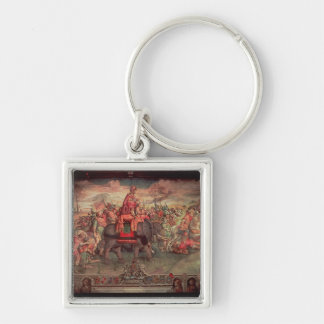 Hannibal Crossing the Alps Keychain