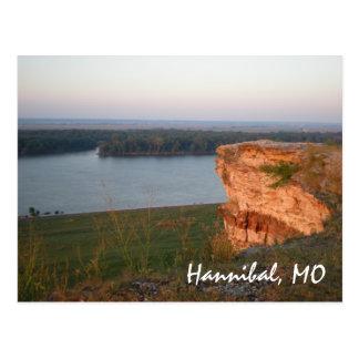 Hannibal, MO postcard