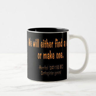 Hannibal quote, Team Mike Mug