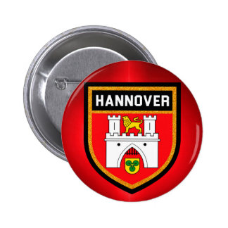 Hannover Flag 2 Inch Round Button