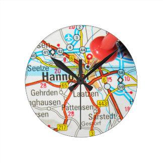 Hannover, Hanover, Germany Round Clock