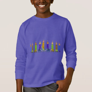 Hannukah Menorah Shirt