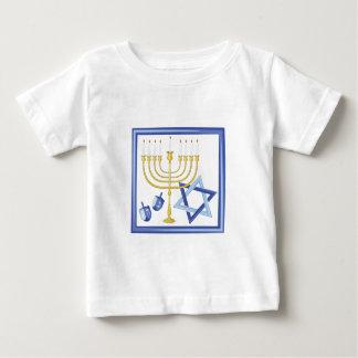 Hannukah Symbols Baby T-Shirt