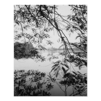Hanoi Vietnam, Hoan Kiem Lake View Poster