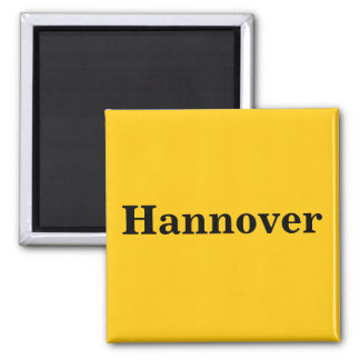 Hanover magnet sign gold Gleb