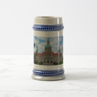 Hanover, New Town Hall 02, Germany (Hannover) Beer Stein